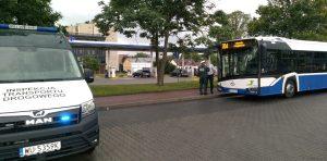 Badanie stanu trzeźwości kierowcy autobusu.