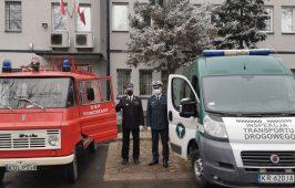Fiat Ducato przekazany Gminie Olkusz do używania przez Ochotniczą Straż w Pomorzanach.
