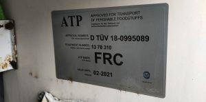 Stwierdzono wykonywanie przewozów drogowych bez posiadania wymaganego certyfikatu ATP.