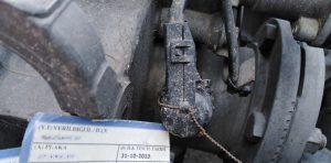 Wyłącznik tachografu w rękach małopolskiej ITD.
