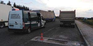 Punkt ważenia pojazdów ciężarowych.