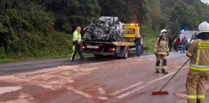 Inspektorzy zostali zadysponowani na miejsce tragicznego w skutkach wypadku.