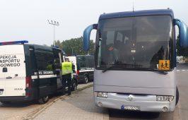 W trakcie ww. akcji kontrolowane były także autobusy szkolne.