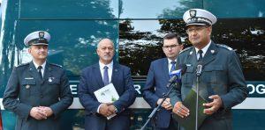 W służbie Wojewódzkiej Inspekcji Transportu Drogowego w Krakowie.